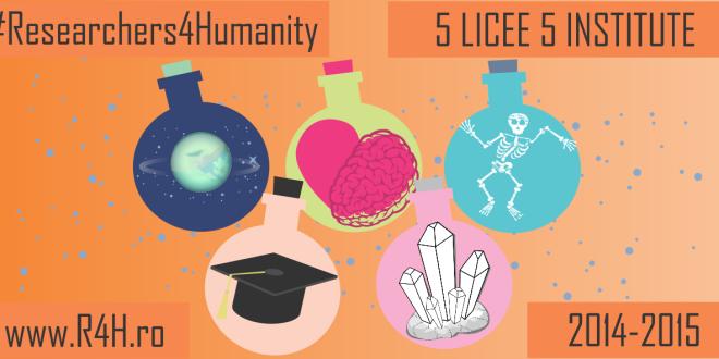 """Conferinta de lansare proiect """"5 Licee, 5 Institute"""""""